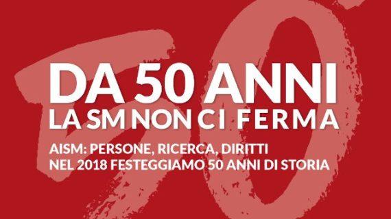 Si apre la settimana dedicata ai 50 anni dell'Associazione Italiana Sclerosi Multipla,