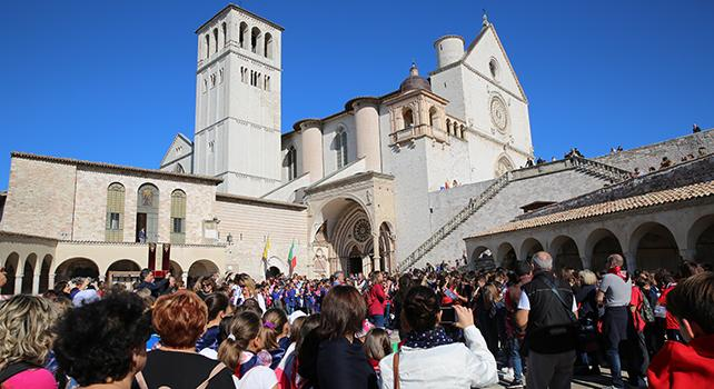 """Cantemus Domino 2018"" a Santa Maria degli Angeli in Assisi"