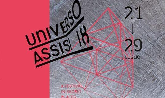 """Al via """"Universo Assisi 2018"""", presso l'ex Montedison, uno dei tanti """"luoghi segreti"""" di Assisi."""