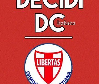 DECIDI D.C.: L'INTERVENTO DEL SEGRETARIO REGIONALE DEL MOVIMENTO GIOVANILE D.C. CAMPANIA SALVATORE IZZO.