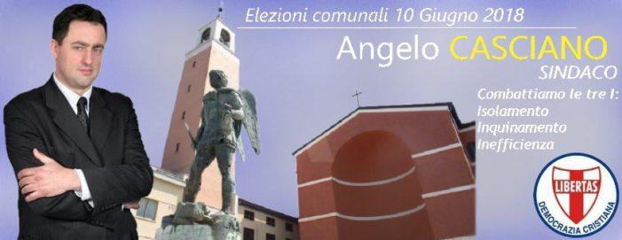 IL CANDIDATO SINDACO DELLA DEMOCRAZIA CRISTIANA AD APRILIA (LT) ANGELO CASCIANO SI BATTE CON FORZA SULLE TEMATICHE DELLA TUTELA AMBIENTALE DELLA CITTA' !