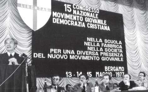 SI STA REGISTRANDO UN NOTEVOLE IMPULSO ALLA PRESENZA ED ALLE ATTIVITA' DEL MOVIMENTO GIOVANILE DELLA DEMOCRAZIA CRISTIANA !