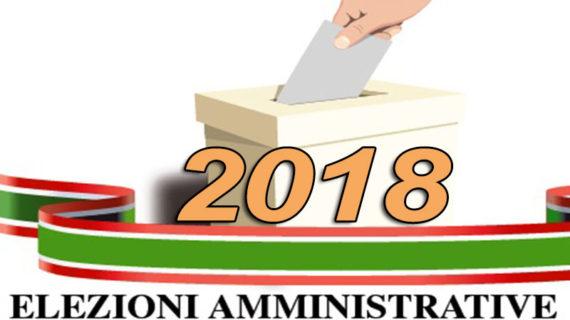 ELEZIONI AMMINISTRATIVE DEL 10 GIUGNO 2018: TUTTI I COMUNI E COME SI VOTA.