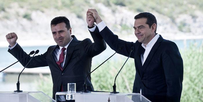 Grecia e Macedonia hanno firmato un accordo storico.