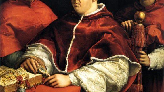 """Papa Leone X emette la bolla """"Exurge Domine"""":  la scomunica Martin Lutero."""