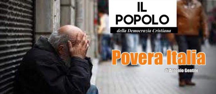 Dati Istat : 18 milioni di italiani a rischio povertà.