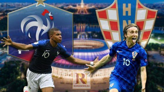 Mondiali 2018: finale tra Francia e Croazia – terzo e quarto posto Belgio e Inghilterra.