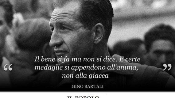 104 anni fa nasceva Gino Bartali,: un pezzo di storia italiana.
