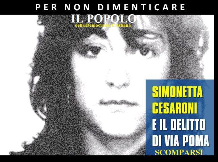 Via Poma, il 7 agosto 1990 l'omicidio di Simonetta Cesaroni.