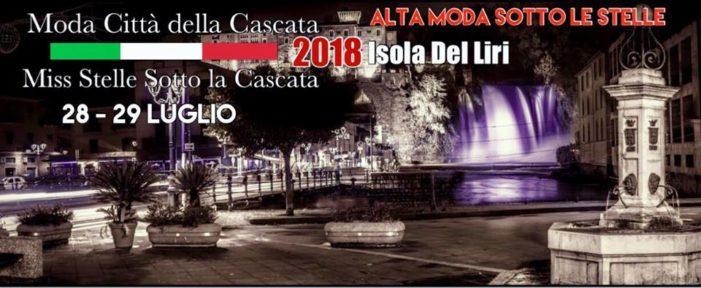 Isola del Liri : città dell'acqua, della musica e della Moda, 28-29 Luglio Cascata night.