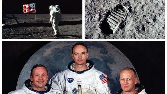 Odissea nello spazio anno 1969 : 49 anni fa l'uomo metteva piede sulla Luna.