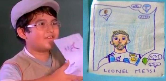 Brasile: a 8 anni si disegna l'album delle figurine, ora la Panini gli farà una sorpresa