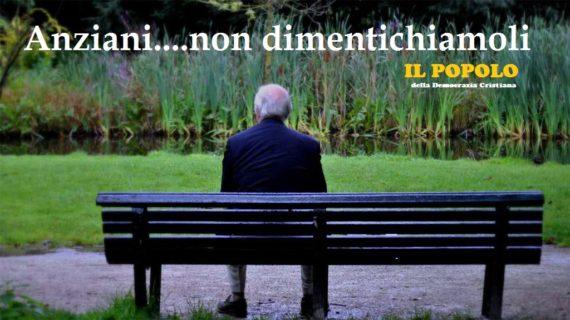 L'Italia invecchia e dimentica : gli anziani hanno bisogno di affetto.