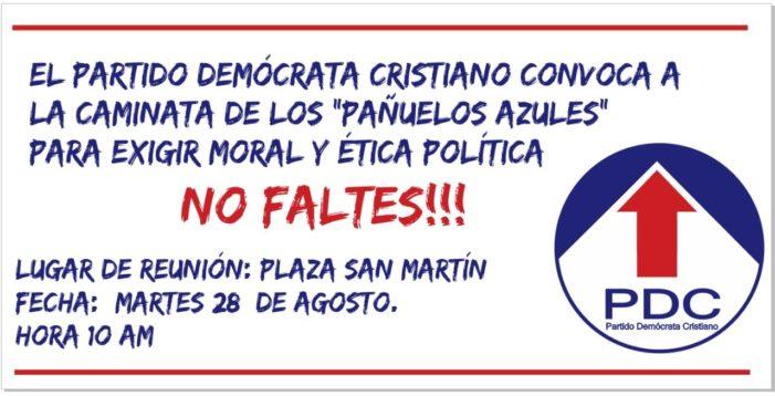 Si rafforzano i legami di amicizia e di collaborazione tra D.C. italiana ed il Partito Democratico peruviano.