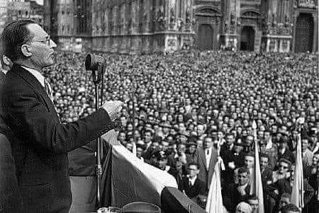 19 agosto 2018, ore 9.30, a Roma: presso la Basilica di San Lorenzo fuori le mura commemorazione di ALCIDE DE GASPERI nel sessantaquattresimo anniversario  della sua scomparsa (19 agosto 1954).
