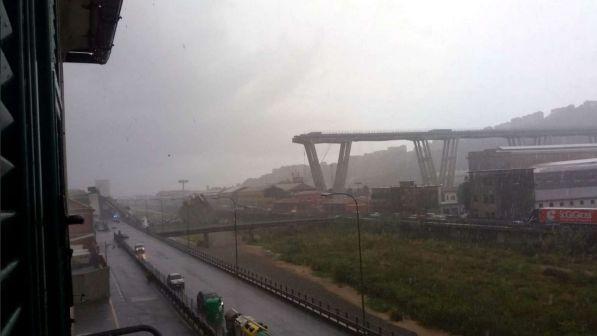 Crollo del ponte a Genova: molte vittime.