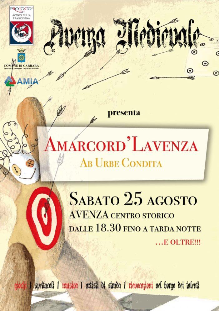 """Anche l'Associazione """"Giochi di Strada"""" di Roma sarà presente ad """"Avenza medievale – Amarcord'Lavenza"""""""