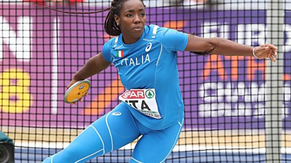 Daisy Osakue nonostante l'aggressione sarà agli Europei di atletica !