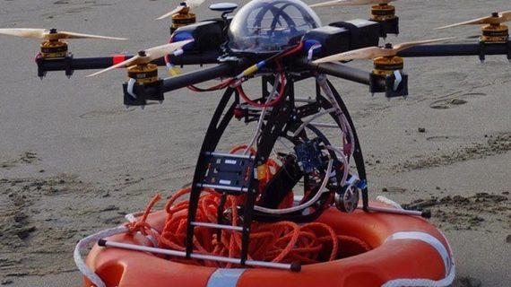 In Italia ti salva il drone bagnino : addio ai Baywatch.