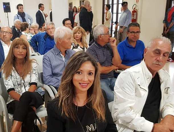 """Il Segretario regionale della Democrazia Cristiana dell'Abruzzo Angelica Bianco presente al convegno """" Finalmente si è dimesso: la festa la facciamo noi ! """"."""