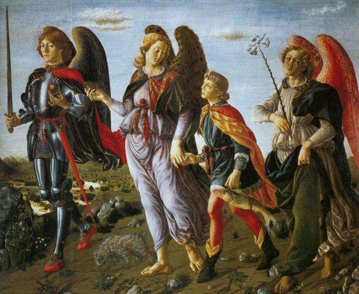 La festa degli arcangeli Michele, Gabriele, Raffaele (29 settembre).