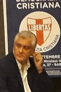 """Intervento al Convegno di Bari del Dott. Salvatore Bernocco, Seg. di """"Ruvo Democratica e Cristiana"""". (Puglia)"""