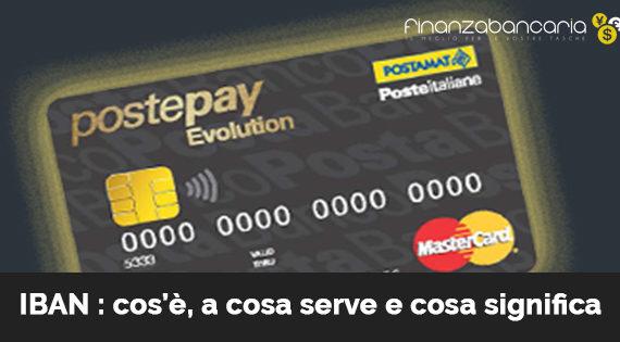 Postepay, dal 1° ottobre cambia l'Iban per le carte.