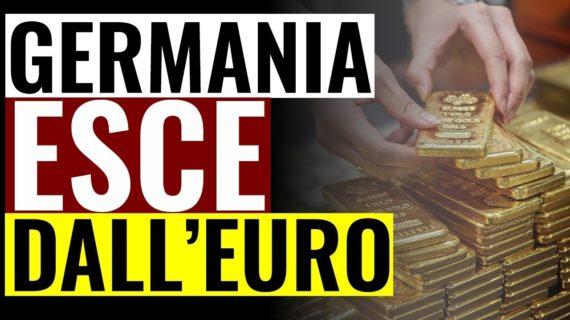 Uscire dall'Euro: e se alla fine lo facesse la Germania?