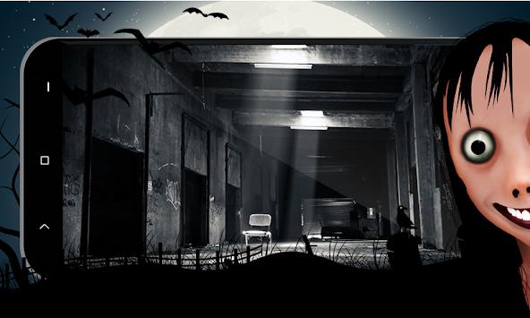 Momo spaventoso: gioco horror 2018.
