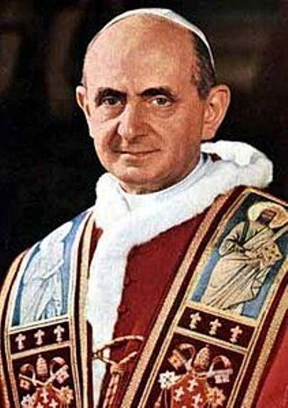 14 ottobre 2018: la Chiesa cattolica proclama santo papa Paolo VI.