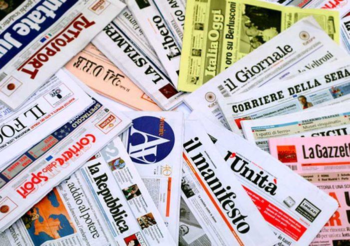 Quali sono i giornali che ricevono più fondi per l'editoria.