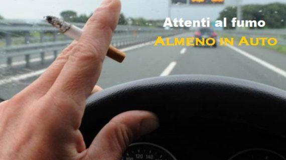 Fumo alla guida: quando si rischia la multa e a quanto ammonta.