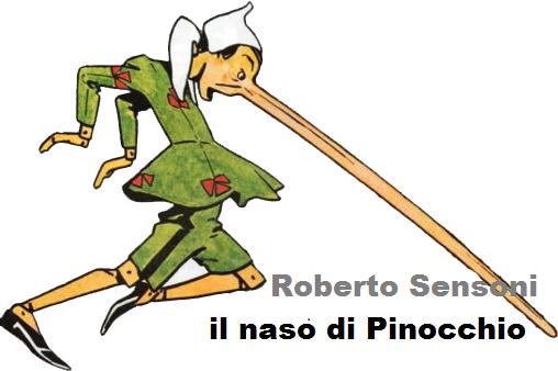 Il naso di Pinocchio……le bugie hanno le gambe corte!!