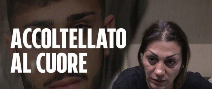 21enne ucciso con una coltellata a Napoli, il dolore della mamma di Lello: chiedo giustizia per mio figlio.