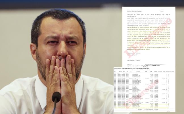 """La ricostruzione del settimanale """"L'Espresso"""" sull'affaire dei 50 milioni di euro che la Lega dovrà restituire in 76 anni!"""