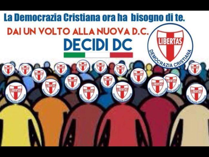 3 novembre 2018: incontro a Cerignola per il rilancio della Democrazia Cristiana in provincia di Foggia.