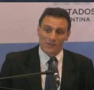 Il saluto di Diego Abriola, Segretario organizzativo nazionale della Democrazia Cristiana in Argentina.