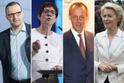 Un poker d'assi del dopo Merkel: al via il toto-nomi sul suo successore.