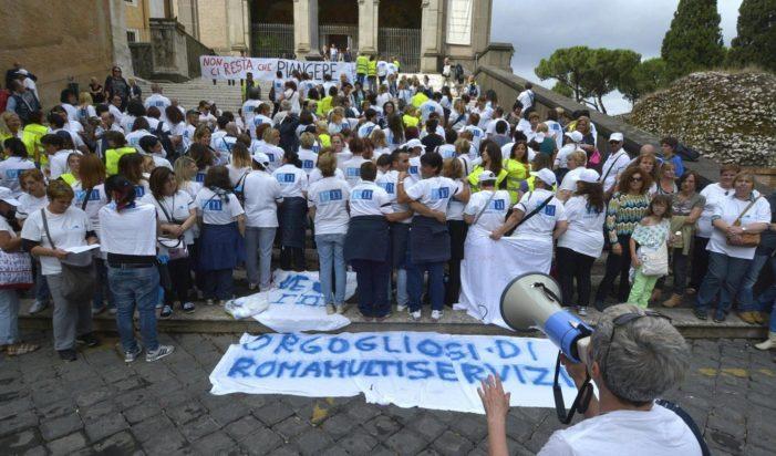 I lavoratori di Roma MUltiservizi scenderanno in sciopero il prossimo 17 dicembre 2018 !
