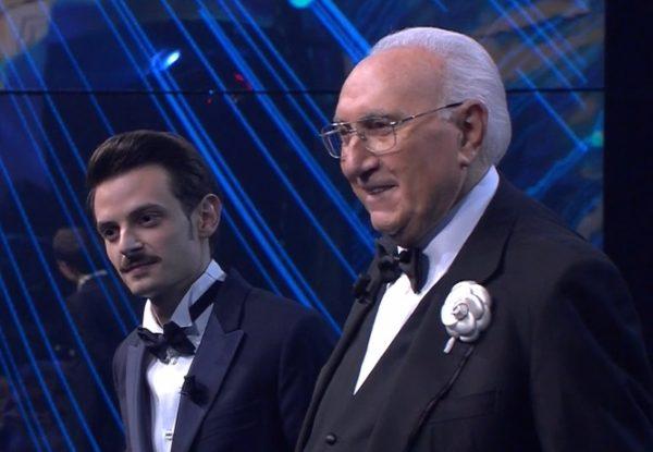 Sanremo Giovani: Pippo Baudo e Fabio Rovazzi, vince Einar.