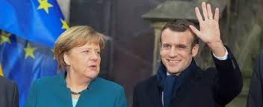 Germania: Merkel e Macron firmano la fine dell'Unione Europea.