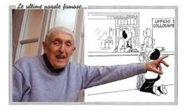 """Morto 'Bort', il vignettista che creò """"Le ultime parole famose""""."""