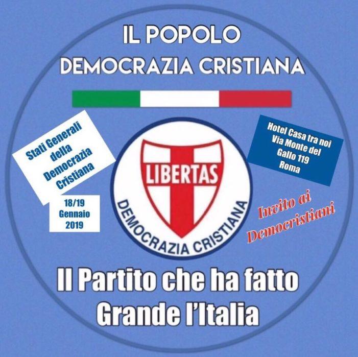 Roma : #Aspettando gli Stati Generali del 18/19 Gennaio 2019.