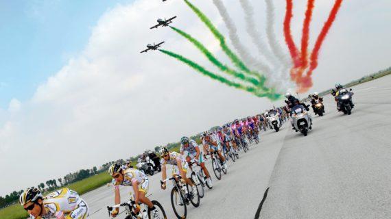 GIRO D'ITALIA 2020: IL 2° STORMO E LE FRECCE TRICOLORI OSPITERANNO LA PARTENZA DI UNA TAPPA DELLA GARA ROSA.