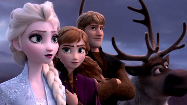 Frozen 2: il cartoon  film della Walt Disney
