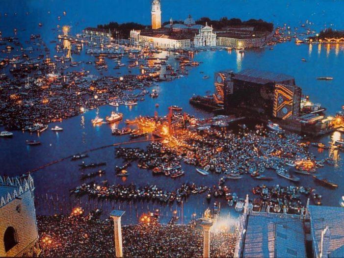 Pink Floyd a Venezia 30 anni fa: il concerto del secolo.