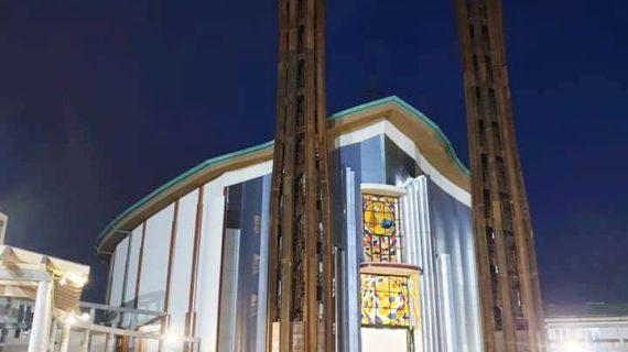 """E' stata inaugurata a Lamezia Terme (CZ) la prima """"Cattedrale d'acciaio"""" costruita in Italia dedicata a San Benedetto."""