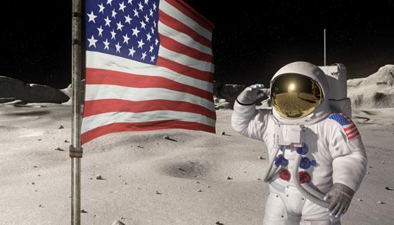 """Di nuovo sulla Luna, Usa accelerano i tempi: """"Ci torneranno entro 5 anni"""", ma con uno staff di donne."""