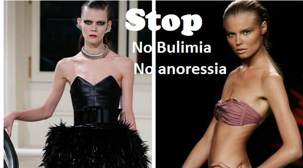 """Stop dell'ente di controllo sulla pubblicità: """"Basta modelli anoressici""""."""