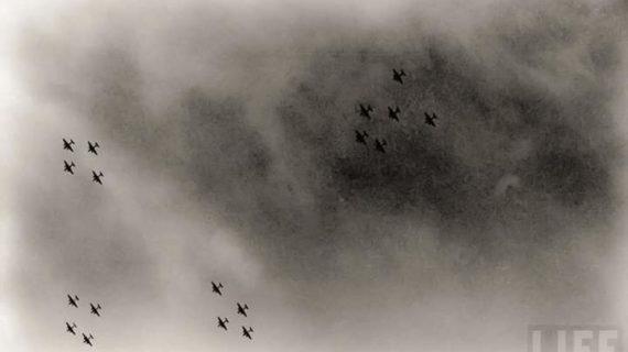 Cassino sotto i bombardieri americani: 15 marzo  1944